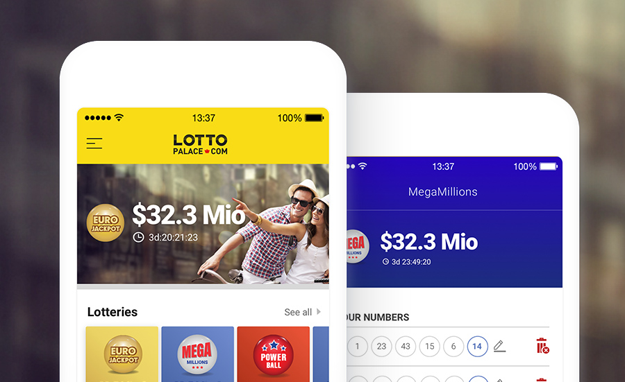 Lottery slip UX case